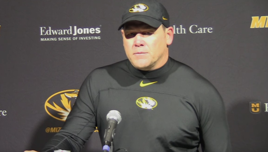 Barry Odum during Georgia vs. Missouri post-game press conference,  Saturday, November 9, 2019
