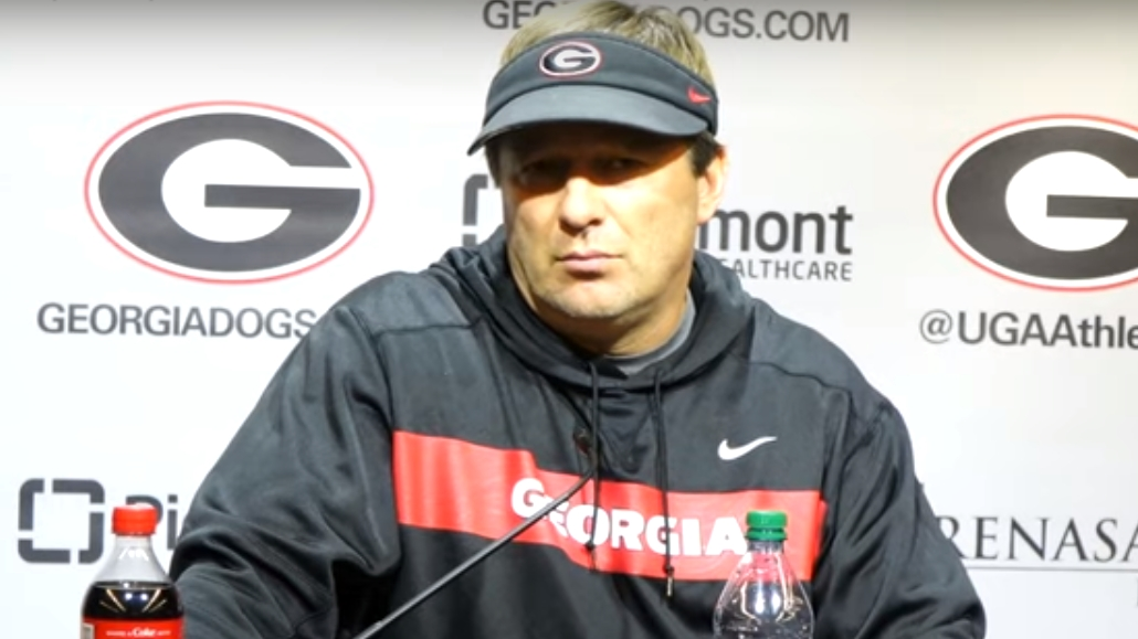Kirby Smart during Georgia vs. LSU SEC Championship post-practice press conference on Tuesday, December 3, 2019