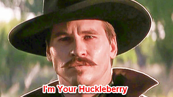 I'm Your Huckleberry blog photo