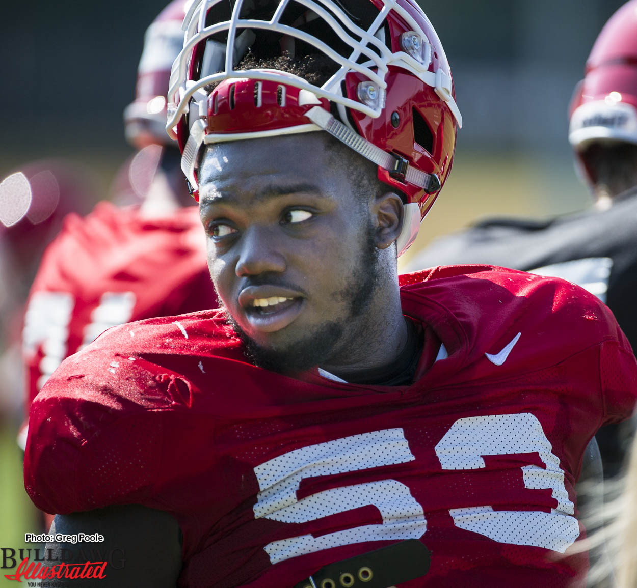 """finest selection 41e20 4590d Lamont Gaillard """"We have a chance to be better…"""" – Bulldawg ..."""