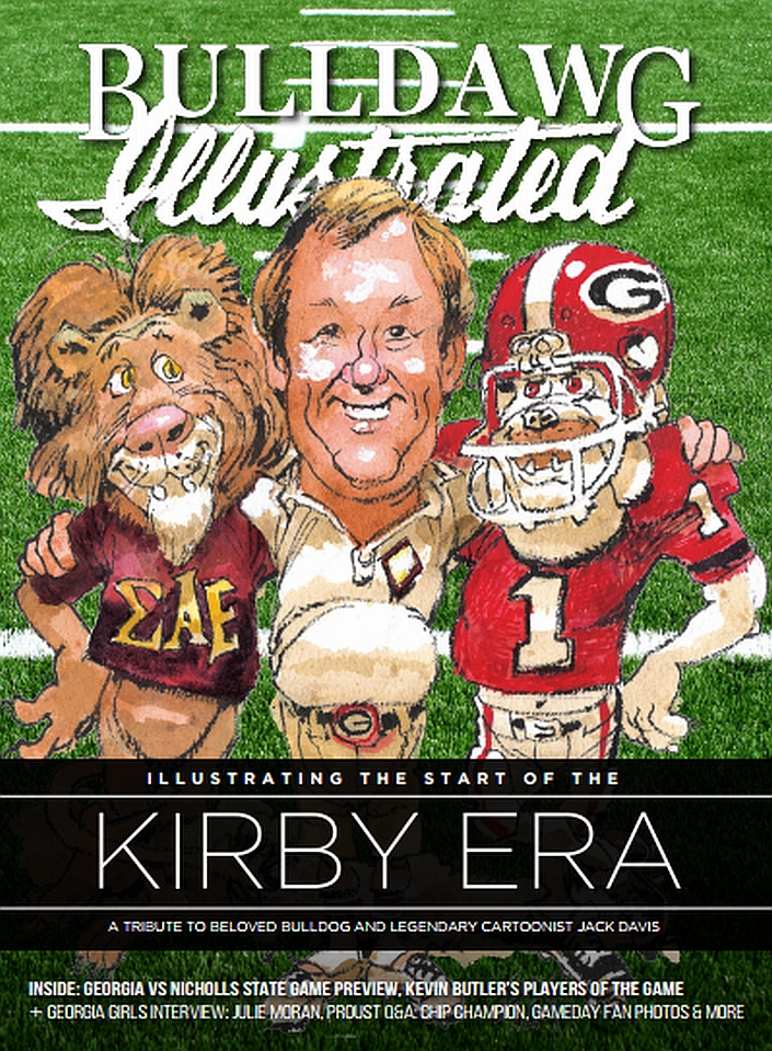 2016 Bulldawg Illustrated Issue 03 cover (Cover Illustration by Jack Davis)