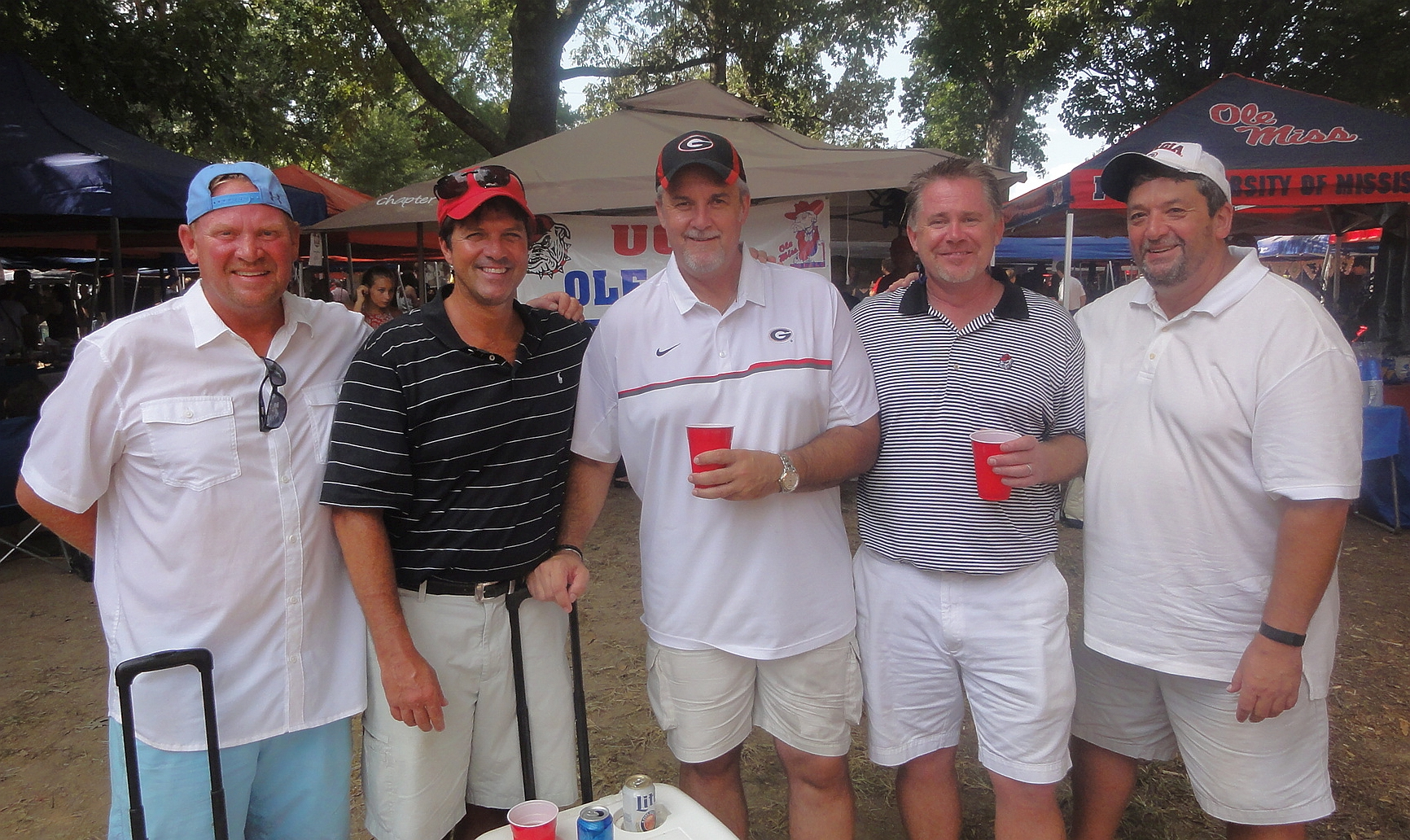 ole miss fan photos bulldawg illustrated jim throw glenn rosdeutscher mike maltby robert es and jeff maltby