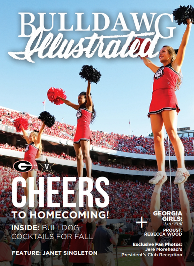 2016 Issue 08 Cover - Cheers to Homecoming