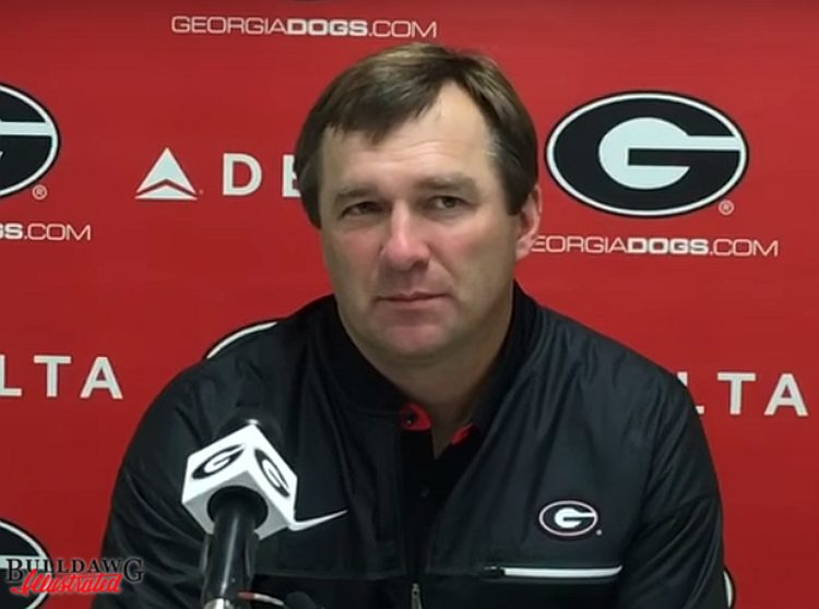 Kirby Smart, post Kentucky game press conference (Photo: Bulldawg Illustrated)