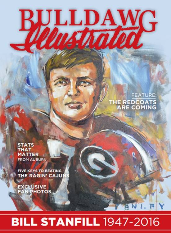 2016 Volume 14 Issue 12 Cover - Bill Stanfill 1947-2016 (Cover Art: Steve Penley)