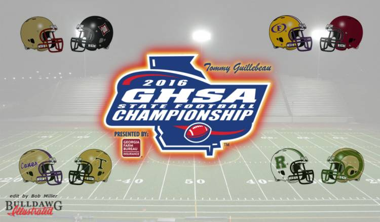 GHSA Football State Championships - Saturday's Games - edit by Bob Miller