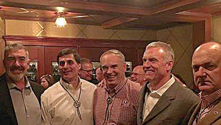 Tim Morrison, Frank Ros, Scott Woerner, Chris Welton and Hue Nall