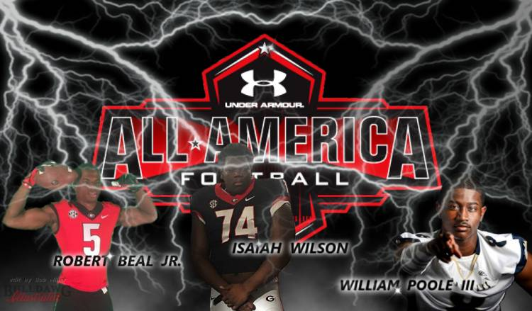 Beal Wilson Poole 2017 Under Armour All-American game edit by Bob Miller