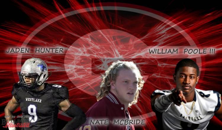 Jaden Hunter, Nate McBride, William Poole III edit by Bob Miller