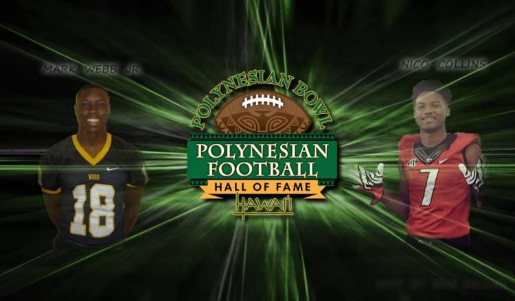 Mark Webb Jr and Nico Collins - Polynesian Bowl edit by Bob Miller