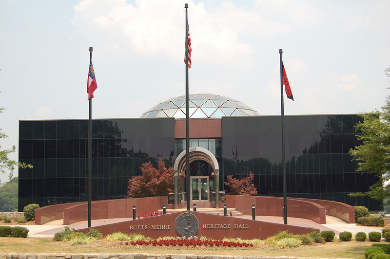 UGA Butts-Mehre Heritage Hall (photo from Georgia Sports Communications)