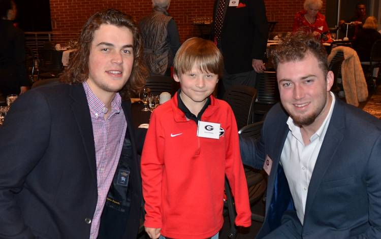 Jacob Eason, Wyatt Watkins and Isaac Nauta