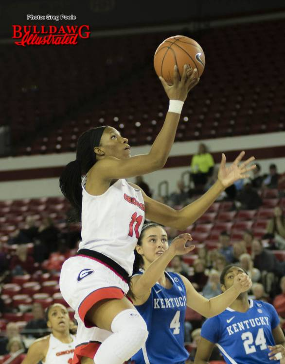 Pachis Roberts drives for a layup