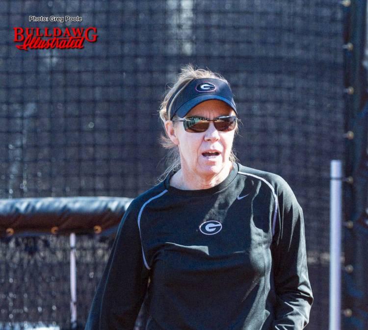 Head coach Lu Harris-Champer