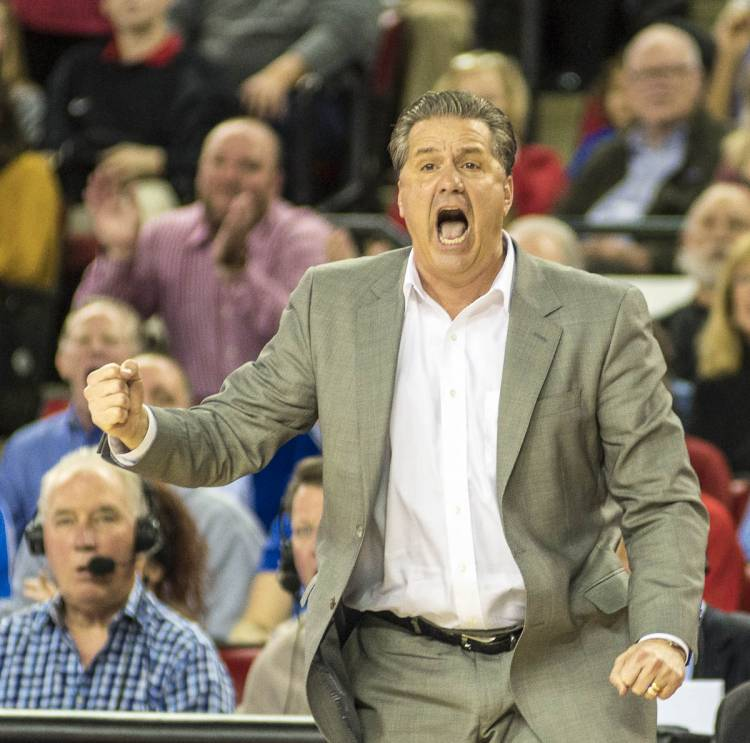 Kentucky Head Coach John Calipari