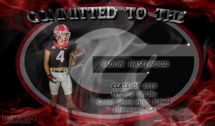 Jadon Haselwood CommittedToTheG edit by Bob Miller