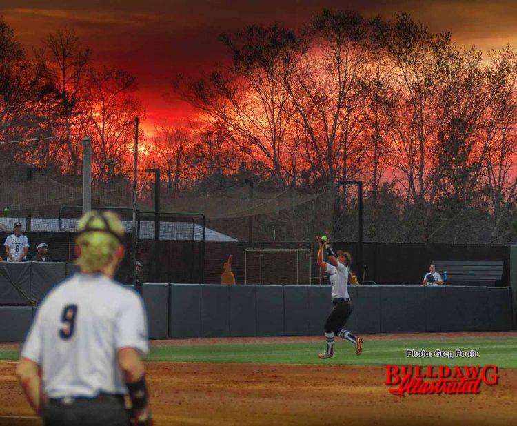 Sunset - Jack Turner Stadium
