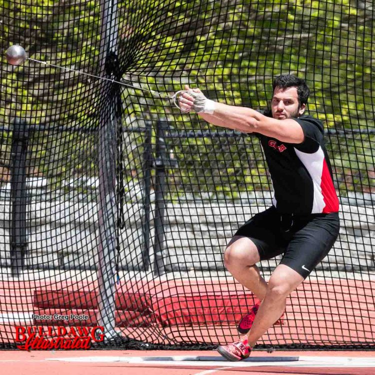 Alex Poursanidis - hammer thrower