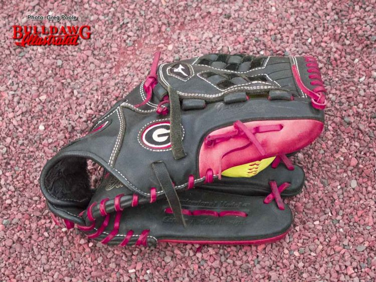 UGA Softball glove