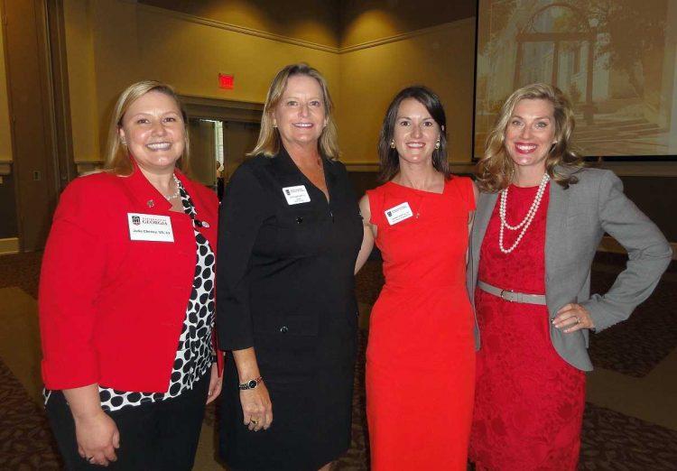 Julie Cheney, Ruth Bartlett, Lauren Cook and Meredith Johnson