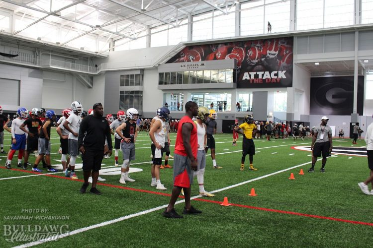 Kirby Smart Football Camp, Friday, June 2, 2017 - University of Georgia Indoor Athletic Facility