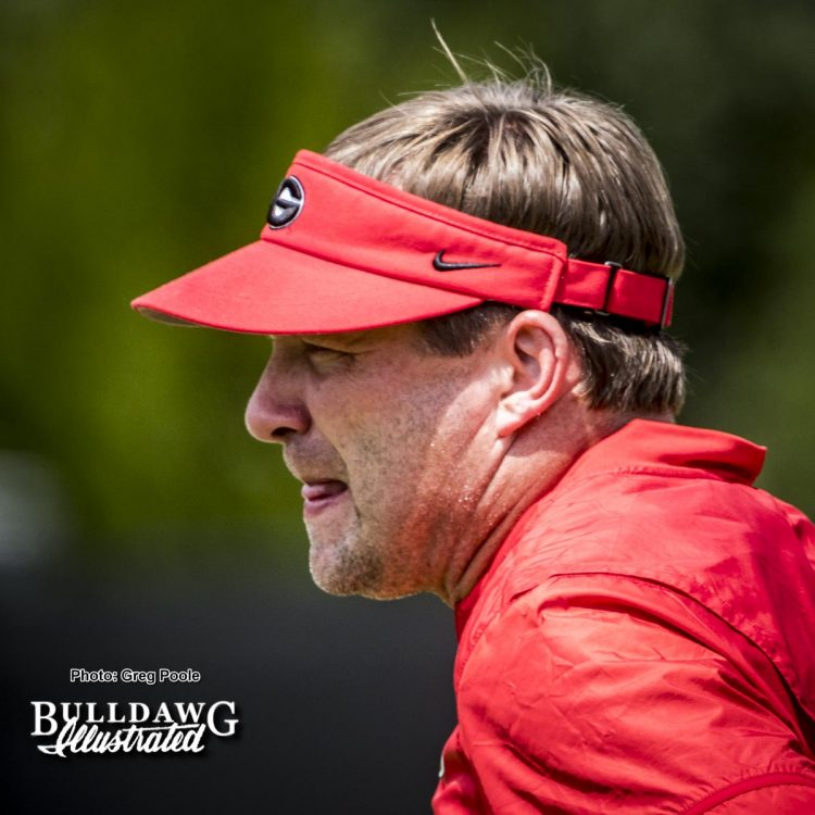 Kirby Smart – fall camp 2017 – August 2