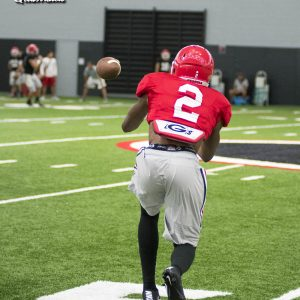 Jayson-Stanley (2) - Practice No. 13 of UGA Fall Camp - Monday, August 14, 2017
