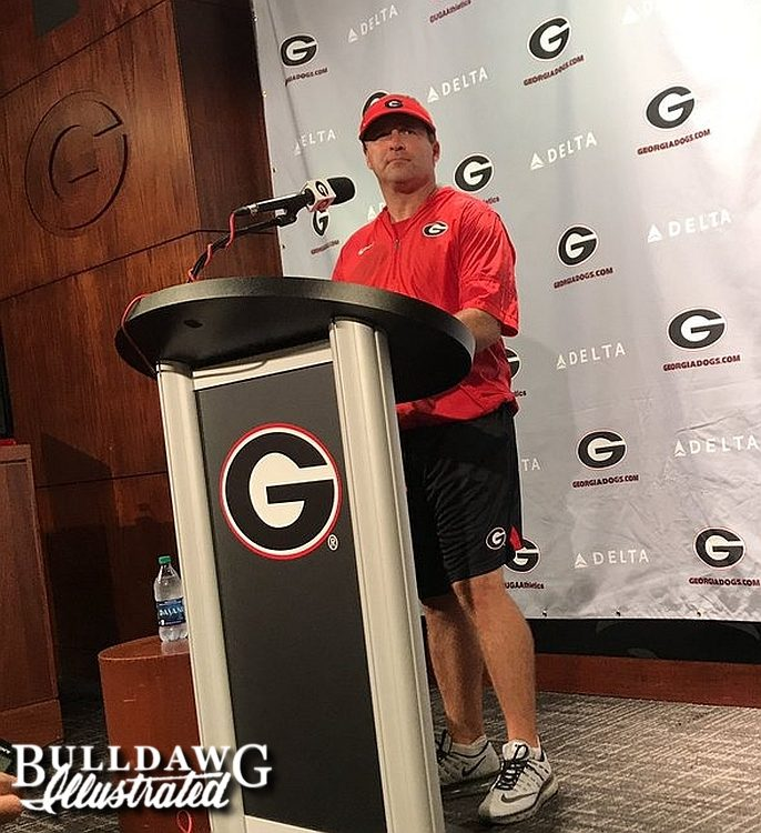 Kirby Smart during his post-practice press conference - 2017-August-15 -