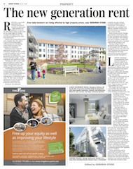 Sunday Express 22 July 2018 The new generation rent