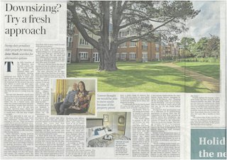 The Telegraph Sat 3rd Feb '19 Downsizing Try a fresh approach.jpg
