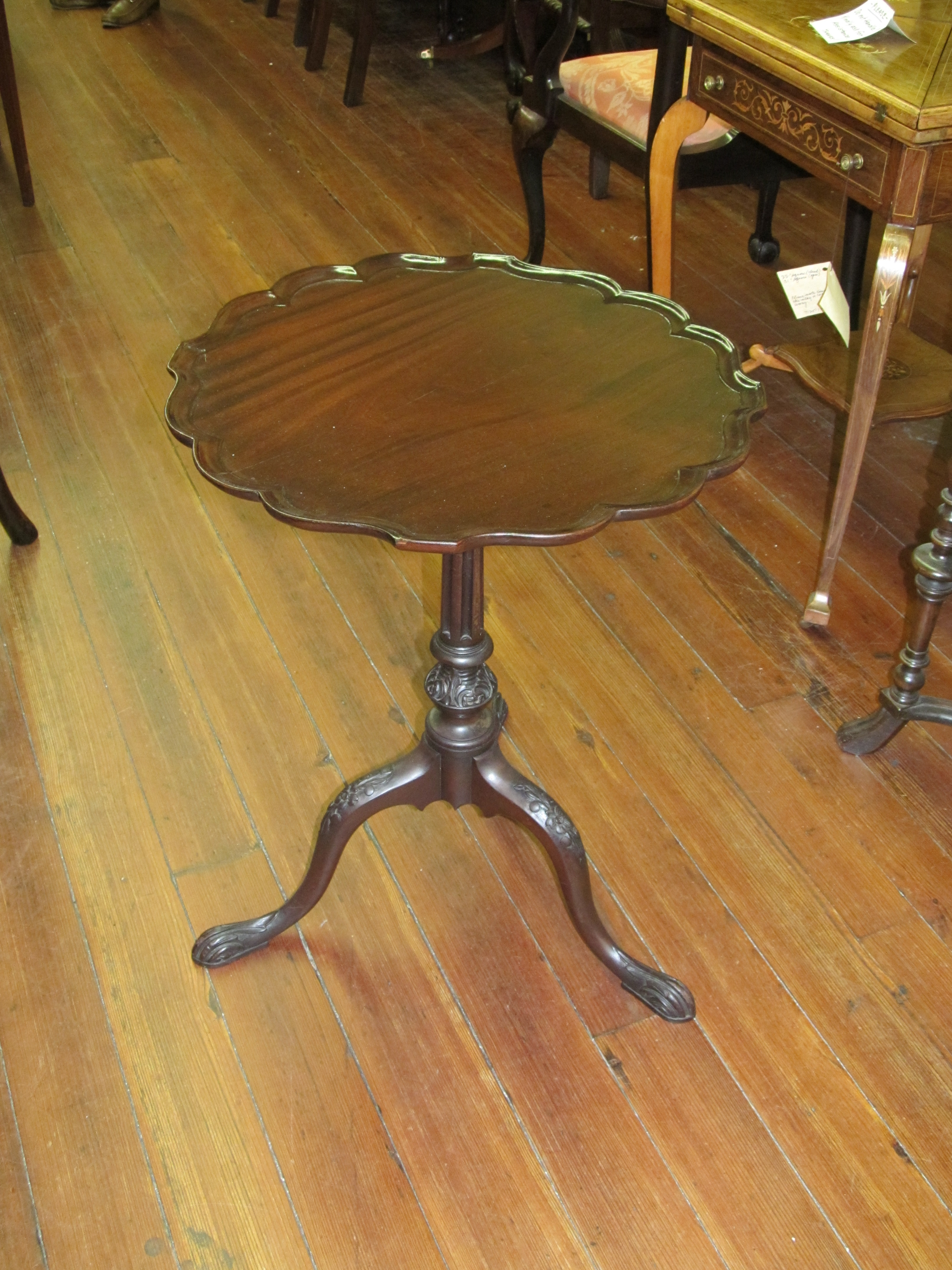 karl gustavian table end c in antique tables side round swedish johan tripod century birch center centre ashley pedestal bonnin circa