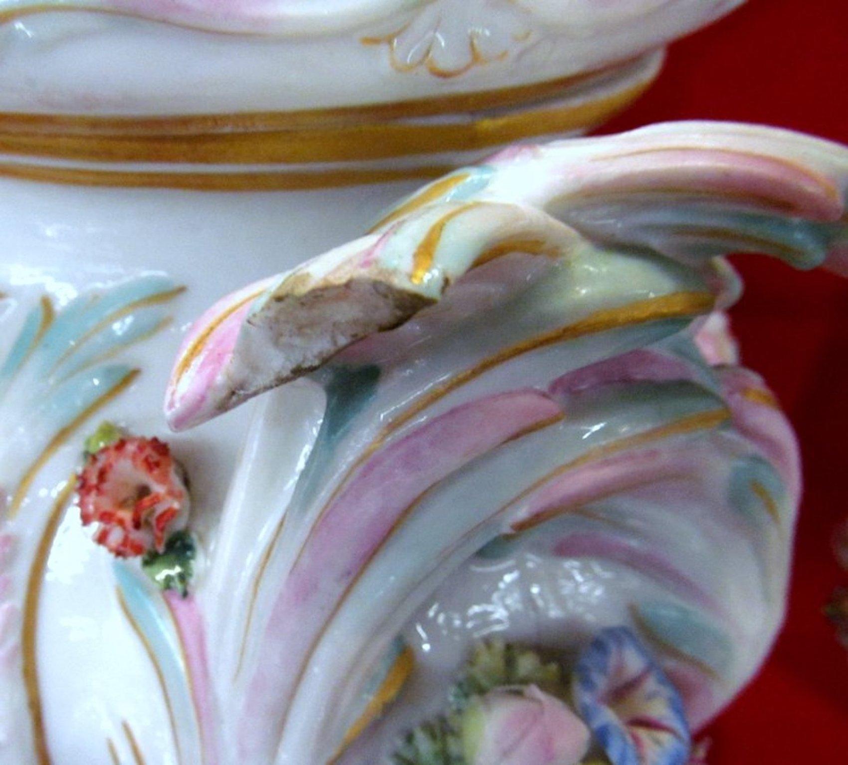 Pair of antique meissen porcelain potpourri urns vases reviewsmspy