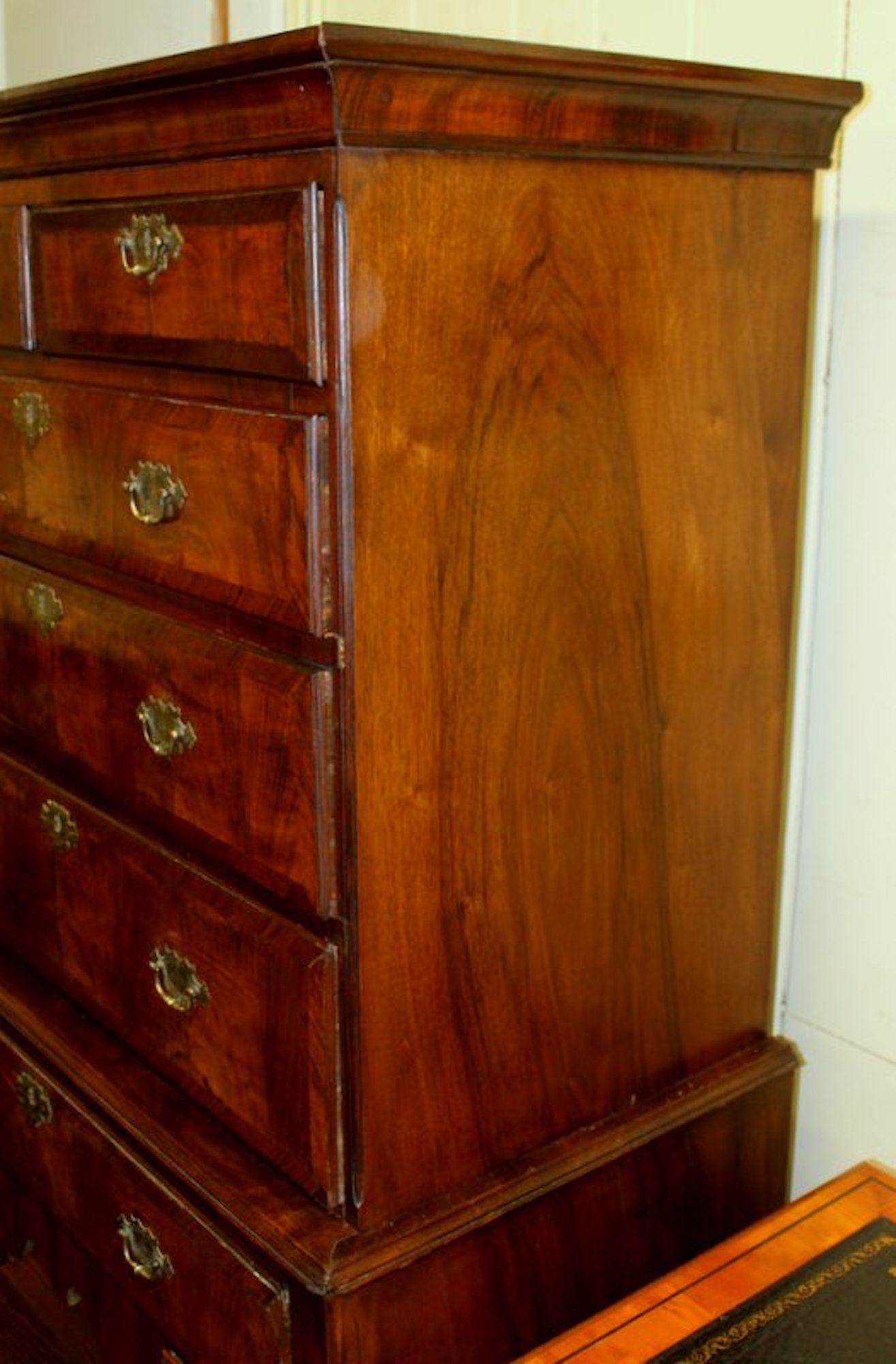 enlarge click image regency of pair saltman brown drawers era to case pieces highboys hollywood listings furniture on chest highboy
