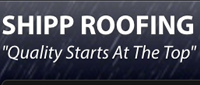 Website for Shipp Roofing