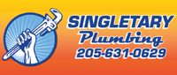Website for Singletary Plumbing, Inc.