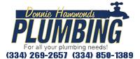 Website for Donnie Hammonds Plumbing, LLC