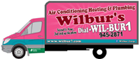 Website for Wilbur's Air Conditioning, Heating & Plumbing