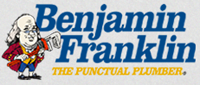 Website for Benjamin Franklin Plumbing