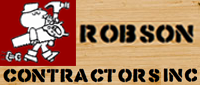 Website for Robson Contractors Inc.