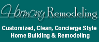 Website for Harmony Remodeling, Inc.