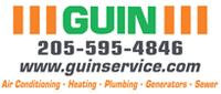 Website for Guin Service, LLC