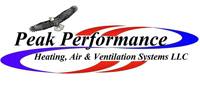 Website for Peak Performance Heating, Air & Ventilation Systems, LLC