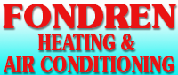 Website for Fondren Heating & Air Conditioning, Inc.