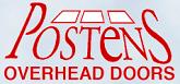 Website for Posten's Overhead Door Company