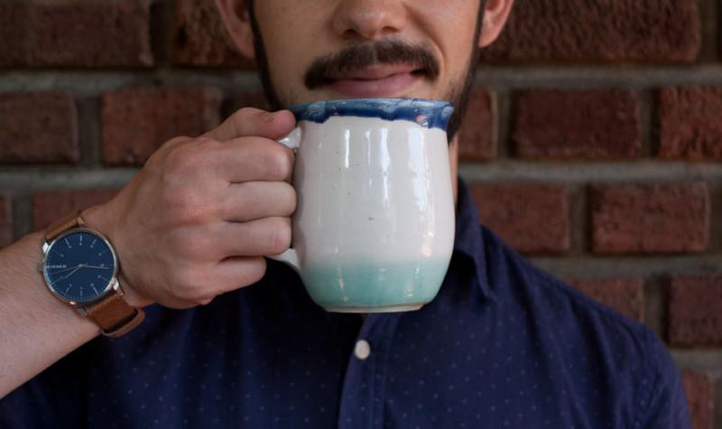Aeropress inverted technique drink moustache large