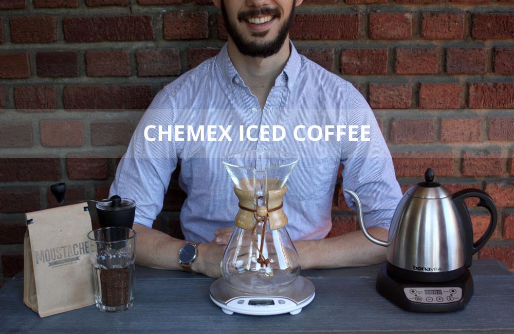 Title chemex iced coffee materials kettle bonavita hariominimill scale