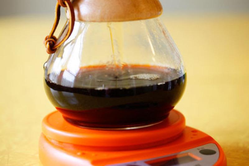 Chemex coffee education moustache tutorial scale brew large