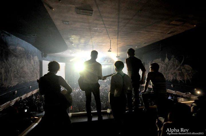 Alpha Rev @ Pre-CD Release Private Party @ Broken Records Studios - Austin, TX