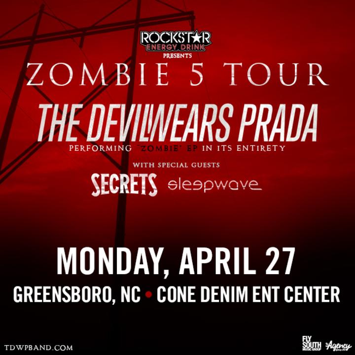 The Devil Wears Prada Zombie Tour