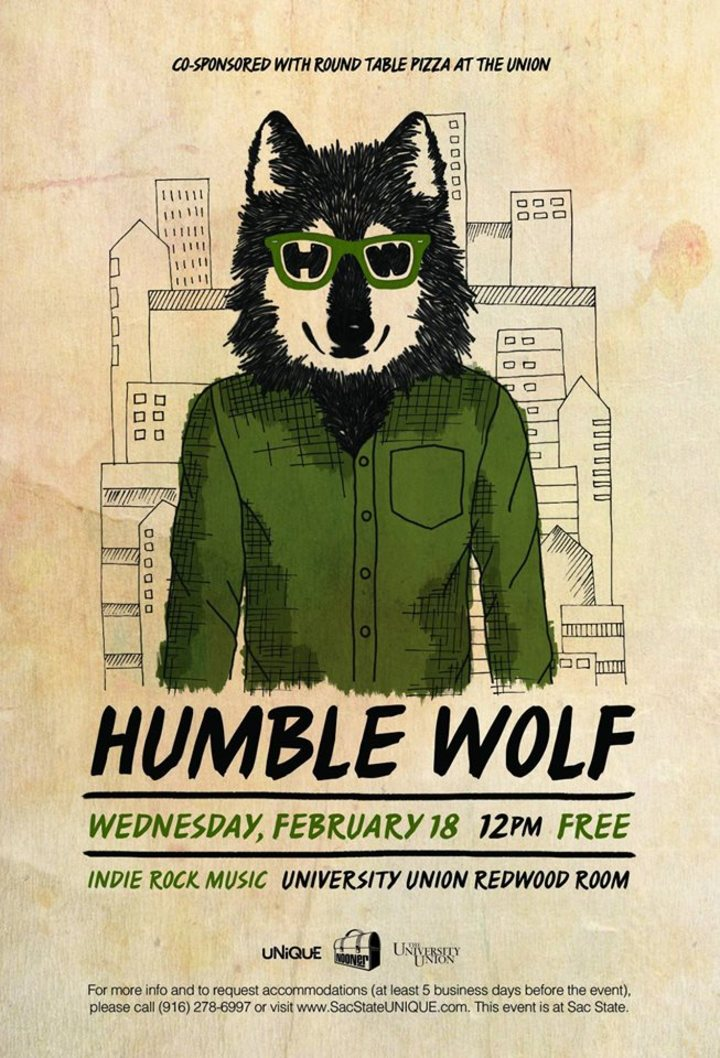 Sac State Round Table.Bandsintown Humble Wolf Tickets Csus Red Room Feb 18 2015